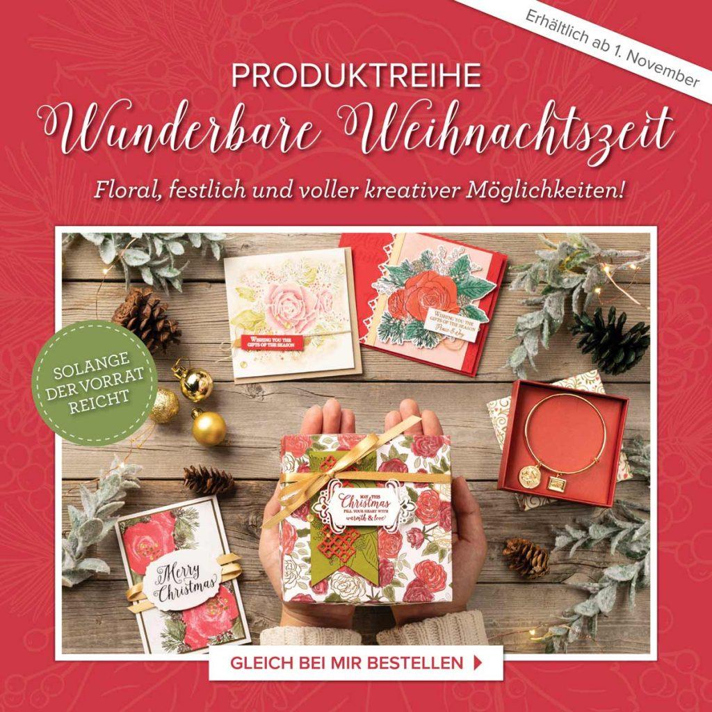 """Produktreihe """"Wunderbare Weihnachtszeit"""""""