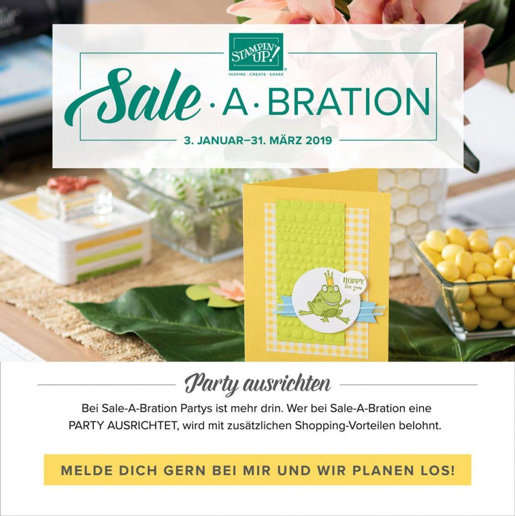 Sale a Bration Party