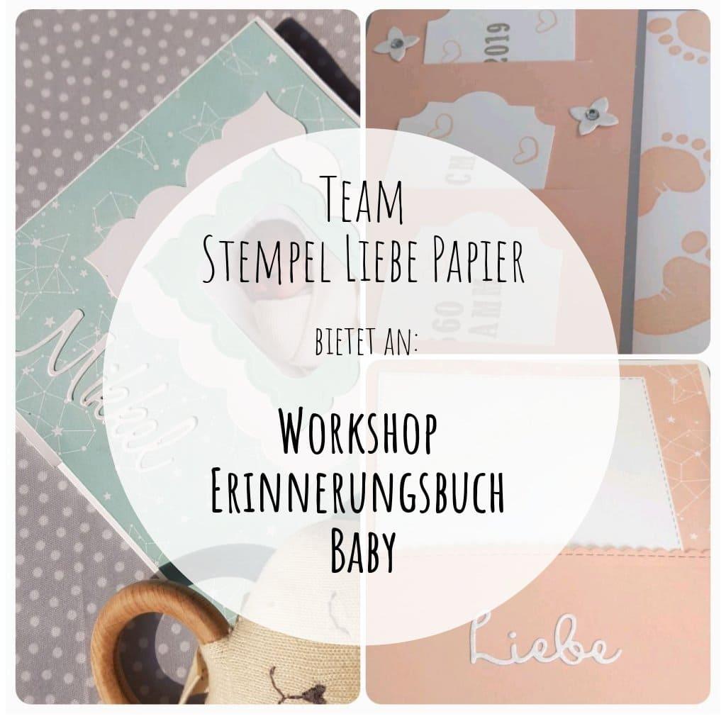 Workshop -Erinnerungsbuch Baby-